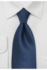 Krawatte monochrom nachtblau