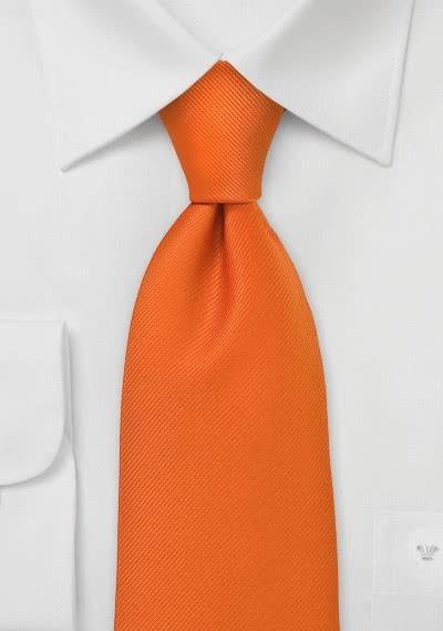 National-Herrenkrawatte Niederlande in orange