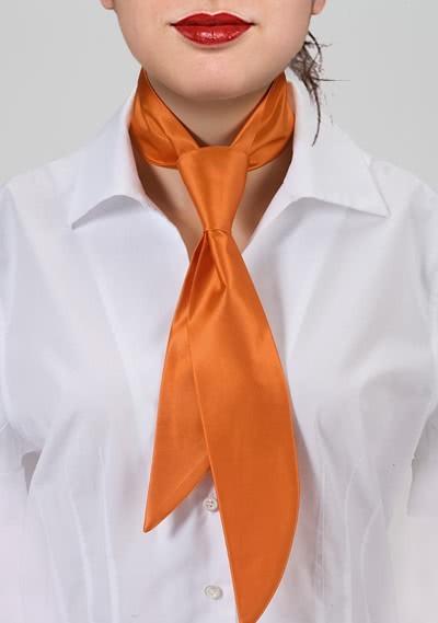 Service-Damenkrawatte Limoges Orange