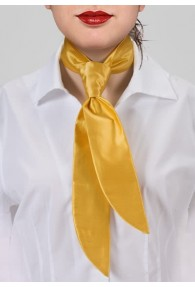Damenkrawatte Gelb