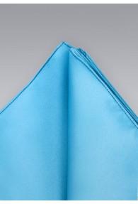Einstecktuch türkisblau