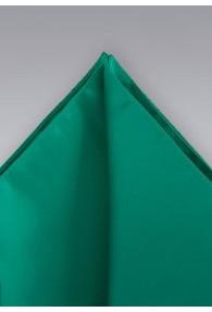 Einstecktuch meergrün