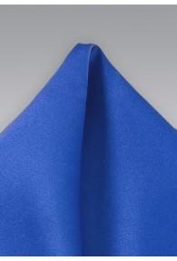 Einstecktuch Königsblau