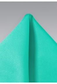 Einstecktuch Türkisgrün