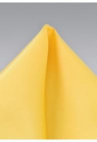 Einstecktuch helles Gelb