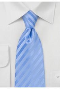 Mikrofaser-Krawatte unifarben hellblau...