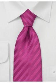 Mikrofaser-Krawatte einfarbig dark pink...