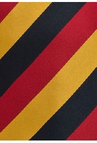 Deutschland Krawatte Schwarz-Rot-Gold