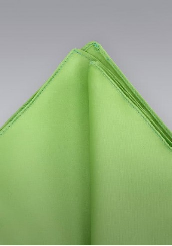 Einstecktuch apfelgrün