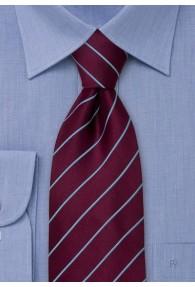 Elegance Krawatte in aubergine