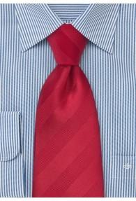 Krawatte Streifendesign  rot