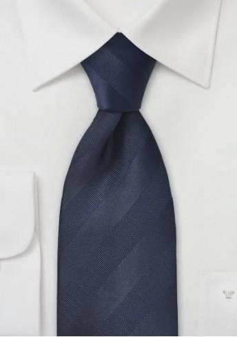 Krawatte Streifen navyblau