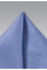 Einstecktuch hellblau Seide