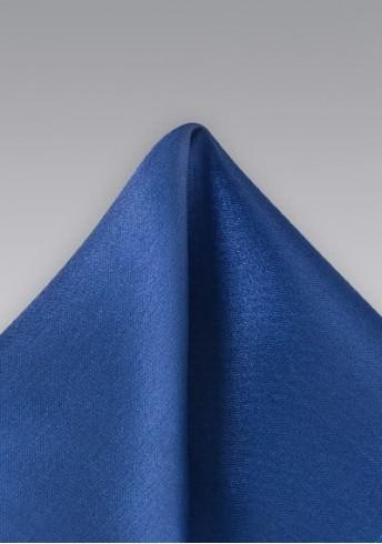 Einstecktuch Mikrofaser königsblau
