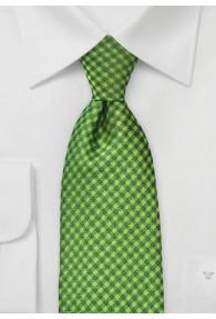 Krawatte Struktur-Kästen hellgrün