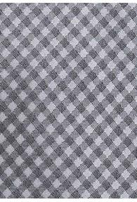 Krawatte Struktur-Karos silber