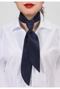 Krawatte für Damen nachtblau unifarben