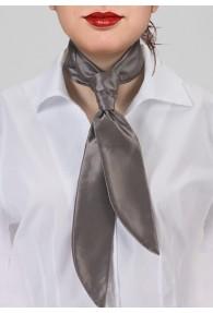 Krawatte für Damen capuccinobraun unifarben