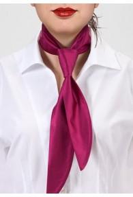 Damen-Halsbinde magenta monochrom