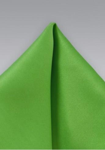 Einstecktuch Giftgrün