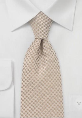 Krawatte beige Pattern