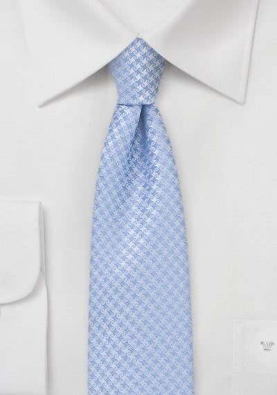 Krawatte schmal geformt Gitter-Oberfläche
