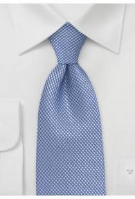 Businesskrawatte monochrom strukturiert taubenblau