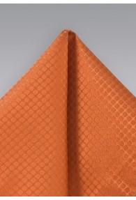 Einstecktuch Struktur orange