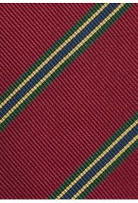 Regimentskrawatte traditionsreich rot