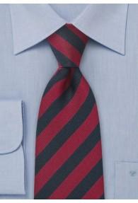 Krawatte navy rot