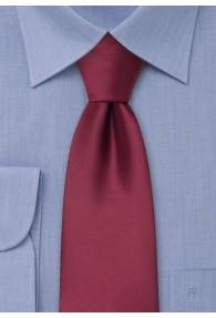 Clip-Krawatte in bordeaux