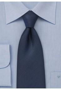 Krawatte monochrom dunkelblau