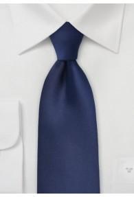 Krawatte unifarben dunkelblau
