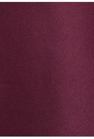 Krawatte monochrom weinrot