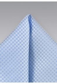 Herren-Einstecktuch Struktur-Pattern taubenblau
