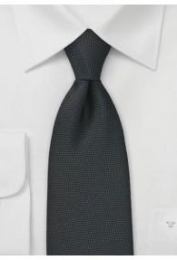 Krawatte  zart strukturiert schwarz