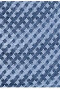 Krawatte blau Karomuster