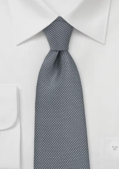 Krawatte anthrazit strukturiert