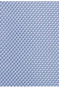 Herrenkrawatte hellblau strukturiert