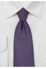 Krawatte lila Struktur