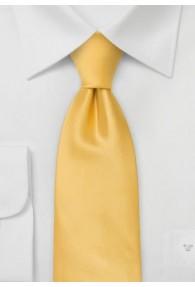 Moulins Krawatte in warmem gelb