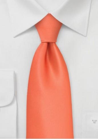 Kinderkrawatte in orange