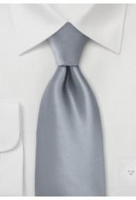 Kinder-Krawatte grau einfarbig