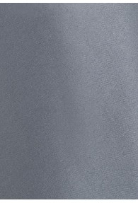 Clip-Krawatte grau einfarbig