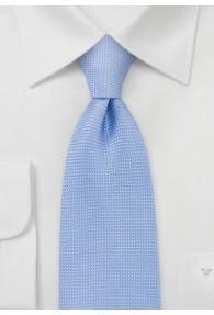 Krawatte Netz-Struktur hellblau