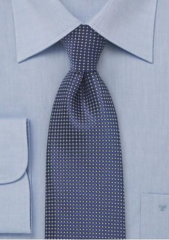 Krawatte strukturiert blau fast metallisch glänzend