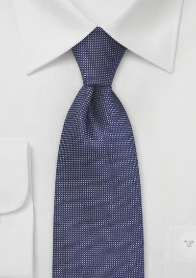 Krawatte Pünktchen-Dekor blau beige
