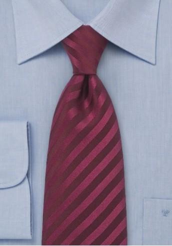 Clip-Krawatte bordeaux