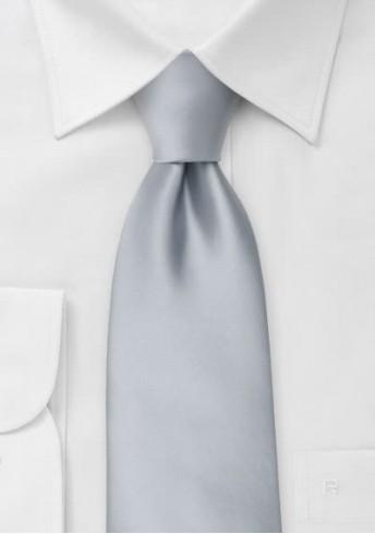 Moulins Krawatte in kühlem silber