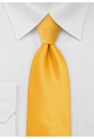 XXL-Krawatte in gelb